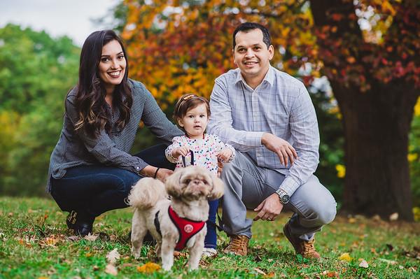 Ensaio Família: Larissa, Rogério e Anna Liz