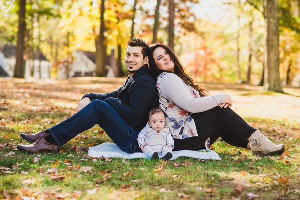 Ensaio Familia: Roberta, Richard e Dominic