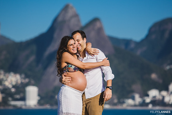 Ensaio Gestante: Isabela + Guilherme = Laura