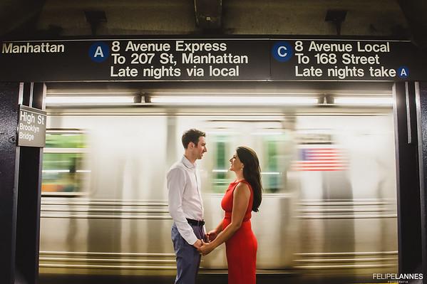 Ensaio NY: Nina e Jon