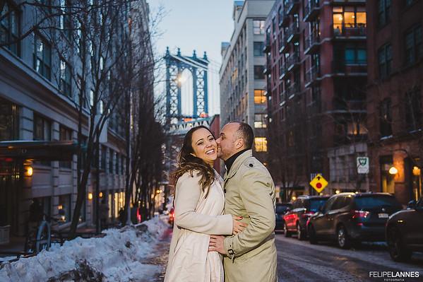 Ensaio NY: Vanessa e Dante