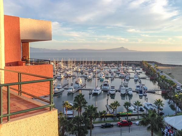 View from Hotel Coral and Marina Ensenada