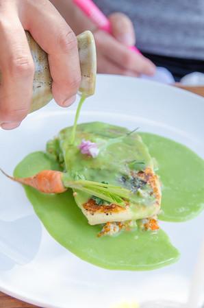 Lunch at Malva Restaurant, Valle de Guadalupe