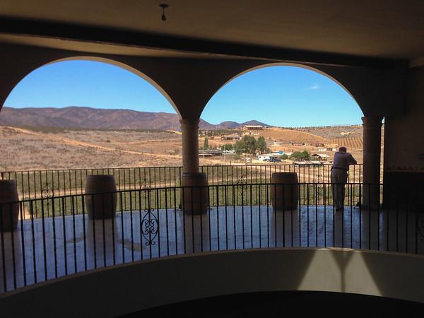 Hacienda La Lomita - Valle de Guadalupe wine tasting