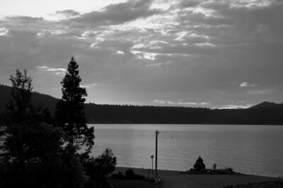 Big Bear Lake, CA  B&W