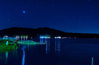 Big bear Lake , CA in blue.