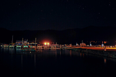 Big Bear Lake, CA. Docks & Stars