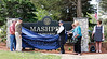 The Unveiling Of The Mashpee Community Park Sign