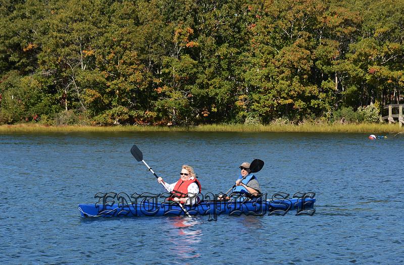 Kayaking Great River In Mashpee