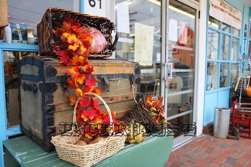 Seasonal Decoration In Buzzards Bay