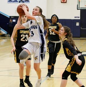 Enterprise at Pleasant Valley girls basketball