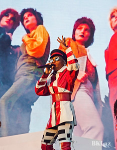 The Fabulous Janelle Monae performing onstage at MemphoFest 2018