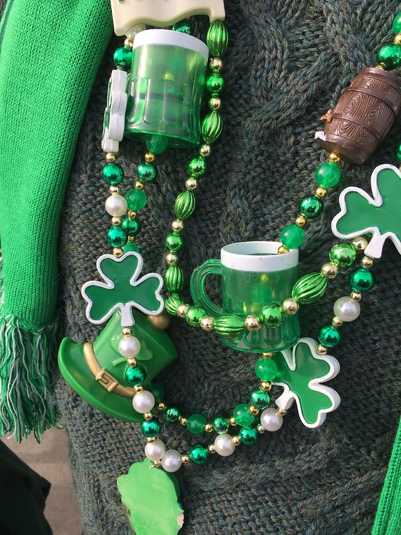 . David S. Glasier � The News-Herald <br> Wearing of the green... St. Patrick\'s Day, Willowick.