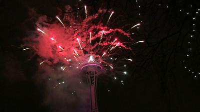 20161231 - NYE Fireworks (videos)