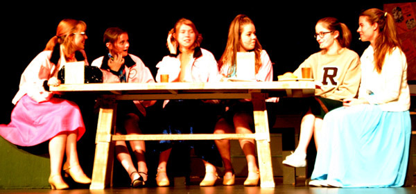 "Photos by Debbie Blank | The Herald-Tribune<br /> Batesville High School's Drama Club and Music Department will present ""Grease: School Version"" Friday-Saturday, April 12-13, at 7 p.m. in the newly-renovated auditorium. Reserved-seat tickets cost $8 for adults and $5 for students. They can be purchased at the door before each show."