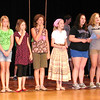 Debbie Blank | The Herald-Tribune <br /> Youth portraying Madrigals and other actors learn their stage movements.