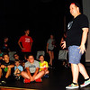 Debbie Blank | The Herald-Tribune<br /> Director Chris Guidi (standing) makes a point during Wednesday afternoon's rehearsal.