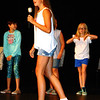 Debbie Blank | The Herald-Tribune<br /> Olivia Stenger gets to sing a tune as one of the Chicks.