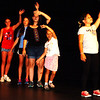 Debbie Blank | The Herald-Tribune<br /> For the 19th summer, Minnesota-based Prairie Fire Children's Theatre experts have brought in sets and costumes and coached kids 8-18 during four rehearsals before two performances. It's a busy week!