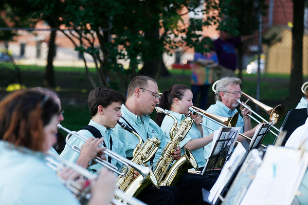Eagles Band plays the VT Veterans home. 070616