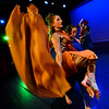"Cast members in the ""Earth Dance"" rehearse the scene ""Leaves and Wind"" at the New England Youth Theater on May 17, 2017. The show will run from May 19-21."