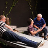"Kayla Rice/Reformer<br /> (L-R) Bruce Holloway, Jim Bombicino and Bob Gruen from the Actors Theatre Playhouse rehearse for ""Found a Peanut""."