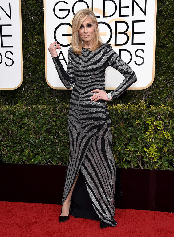 . Judith Light arrives at the 74th annual Golden Globe Awards at the Beverly Hilton Hotel on Sunday, Jan. 8, 2017, in Beverly Hills, Calif. (Photo by Jordan Strauss/Invision/AP)