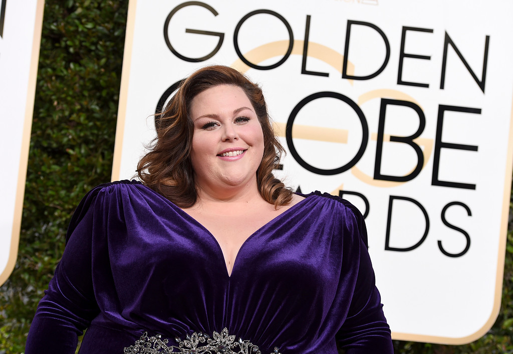 . Chrissy Metz arrives at the 74th annual Golden Globe Awards at the Beverly Hilton Hotel on Sunday, Jan. 8, 2017, in Beverly Hills, Calif. (Photo by Jordan Strauss/Invision/AP)