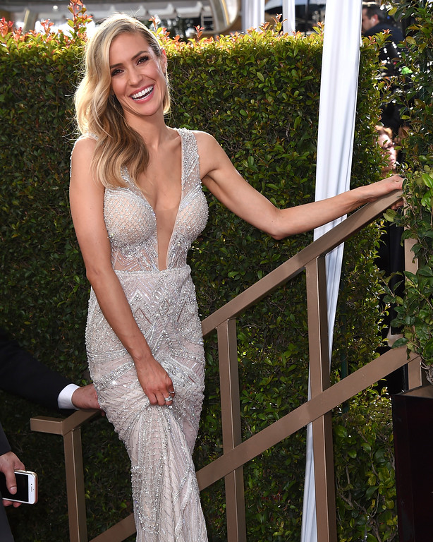 . Kristin Cavallari arrives at the 74th annual Golden Globe Awards at the Beverly Hilton Hotel on Sunday, Jan. 8, 2017, in Beverly Hills, Calif. (Photo by Jordan Strauss/Invision/AP)