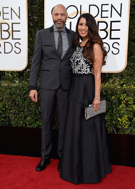 . John Ridley, left, and Gayle Ridley arrive at the 74th annual Golden Globe Awards at the Beverly Hilton Hotel on Sunday, Jan. 8, 2017, in Beverly Hills, Calif. (Photo by Jordan Strauss/Invision/AP)