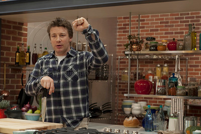 JOliver_011211_1067w British Chef Jamie Oliver, once known as The Naked Chef holds a press conference at Jamie's Kitchen in Westood, Los Angeles, CA to discuss the second season of the Emmy Award winning television series, Jamie Olvier's Food Revolution on January 12, 2011