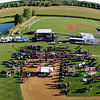 Submitted photo by Jeff Scheel<br /> This is an aerial view of The Plex taken about an hour before the concert by Jeff Scheel.