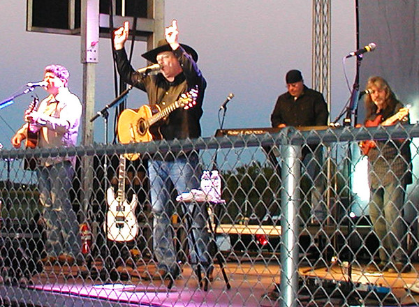 Diane Raver | The Herald-Tribune <br /> John Michael Montgomery sang some of his chart-topping hits during a Sept. 13 performance at The Plex, Batesville. The concert was sponsored by the Rural Alliance for the Arts.