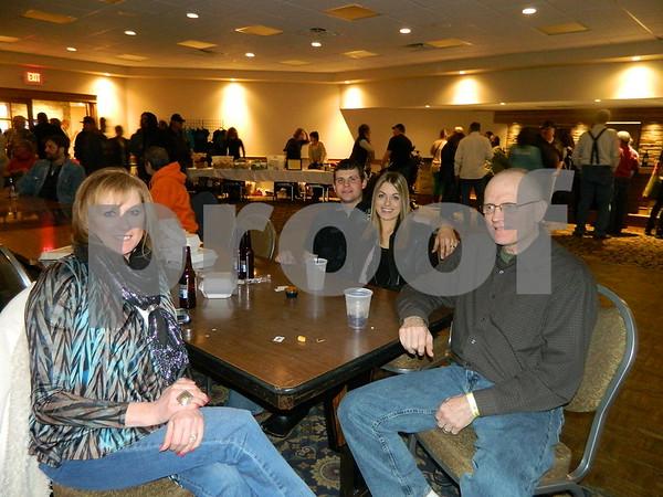 Left to right: Janet Egle, Mark Egle, Ashley Pugh, and Evan Pugh