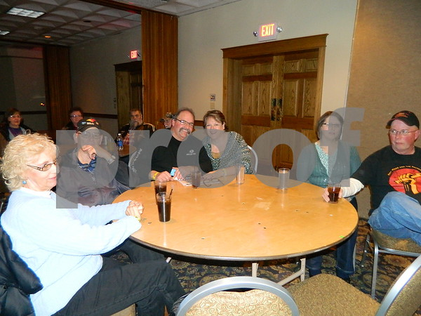 Left to right: Karen Blaas, Neal Blaas, Craig Groover, Tern Groover, Cole Stiles, and Terri Stiles.