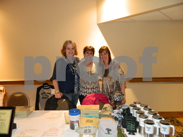 Right to left: Gretchen Van Steeg, Sara O'Leary, and Carolyn Millea