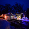 KRISTOPHER RADDER - BRATTLEBORO REFORMER<br /> Locals celebrating the season with lights.