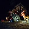 KRISTOPHER RADDER - BRATTLEBORO REFORMER<br /> Locals celebrating the season with lights.