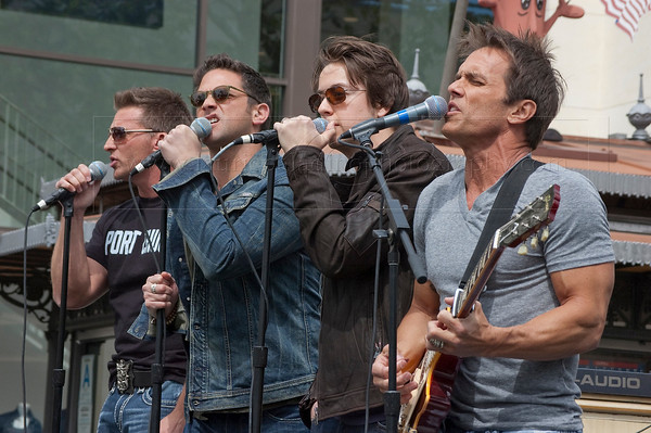 General Hospital Actors Band Port Chuck Performs Live at The Grove in Los Angeles CA 04/07/2011.Photographs by Laurie Paladino