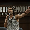 "RB_lp_05012009_1037<br /> British comic, actor and author Russell Brand speaks to the audience at his May 1, 2009 Barnes and Noble book signing appearance for his best-selling UK memoir, ""My Booky Wook"" recently released in the United States.<br /> Photo ©Laurie Paladino 2009"