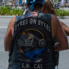 Members of the Dykes on Bykes motorcycle club participate in The 40th Annual Los Angeles Pride Parade takes place on Santa Monica Boulevard in West Hollywood, CA June 13, 2010