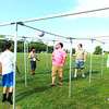 Diane Raver | The Herald-Tribune<br /> Kids of all ages enjoyed playing nine square in the air.