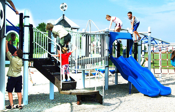 Diane Raver | The Herald-Tribune<br /> The playground was a popular attraction for the youngsters.