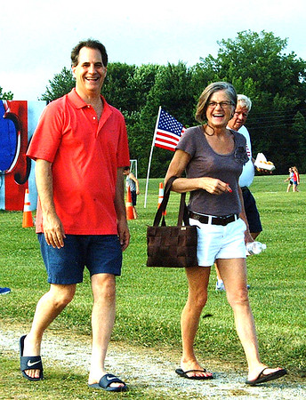 Debbie Blank | The Herald-Tribune<br /> Dave and Melanie Dreyer, Batesville, arrive for the show.