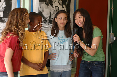 "Cast members  Kenall Ganey,Anne Marie Askell, RG Fleuridor  interviewed at ""The Chefsters"" Los Angeles Press Screening 03/01/2009"