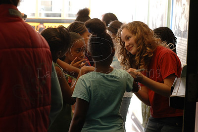 "Cast member Kenall Ganey signs autographs at ""The Chefsters"" Los Angeles Press Screening 03/01/2009"