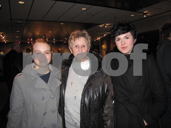 Emma Stuhrenberg, Erlene Kommes, and Brittney Pritchard