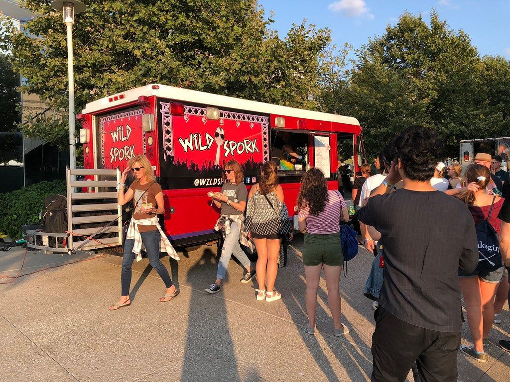 . Mark Meszoros -- The News-Herald Food trucks were a popular option, but InCuya also had stands offering various types of fare.