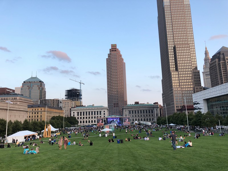 Mark Meszoros -- The News-Herald<br /> You can't help but wonder about the strength of InCuya ticket sales when taking in the City Stage from far back on the lawn.