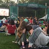 "Mark Meszoros -- The News-Herald<br /> Fans chill as South Carolina ""redneck"" rock act NEEDTOBREATHE.  They would play hit ""The Outsiders"" before they were done."